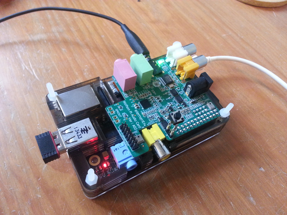 A Second Raspberry Pi Squeezebox – Flies and Bikes