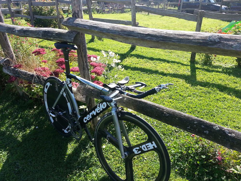 The bike. Sorted!