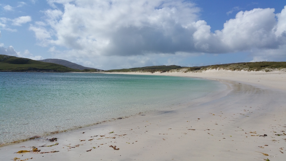 The west facing beach at Vatersay