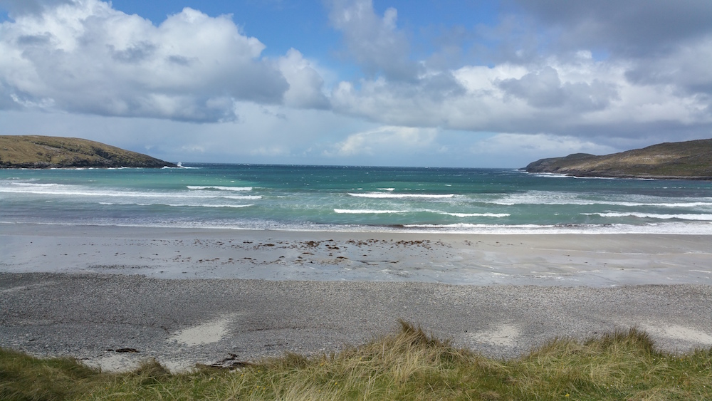 The west-facing beach at Vatersay